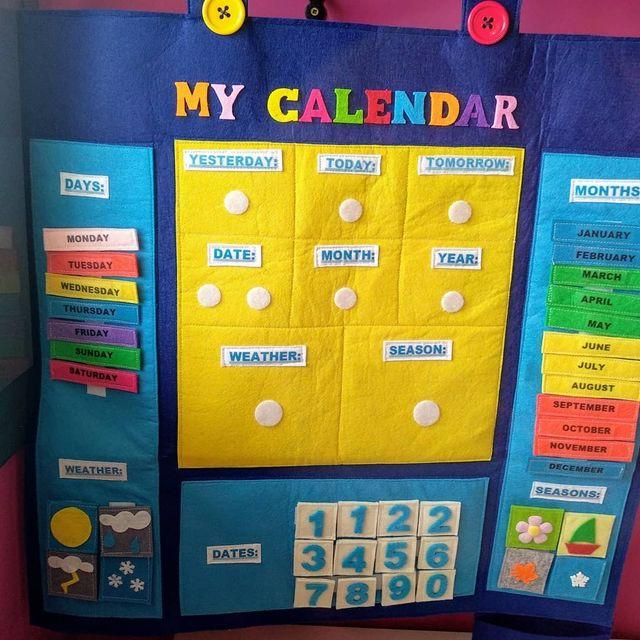 Calendario Montessori.Calendario Montessori En Ingles De Segunda Mano En Vilafranca Del