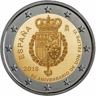 Moneda 2018 españa escudo