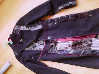 abrigo paño talla 38