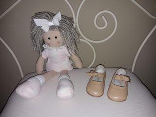 zapato bebe niña número 19