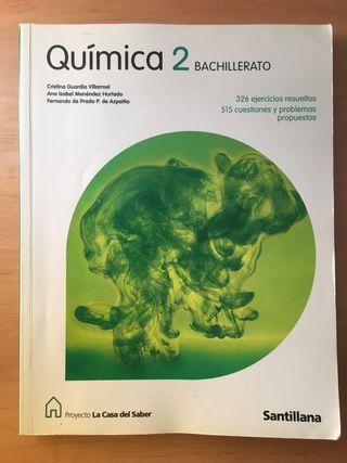 Libro de Química 2 BTO. ed. Santillana