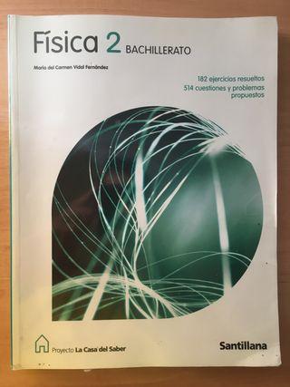 Libro de Física 2 BTO. ed. Santillana