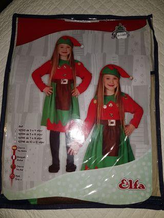 disfraz niña4años