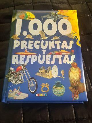 libro 1000 preguntas y respuestas.