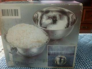 Hervidor de arroz de acero inoxidable