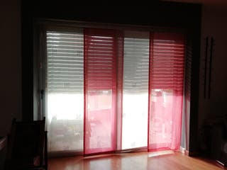 cortina panel japonés (precio de los 4)