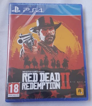 Red Dead Redemption 2 PS4 FISICO Playstation RDR2