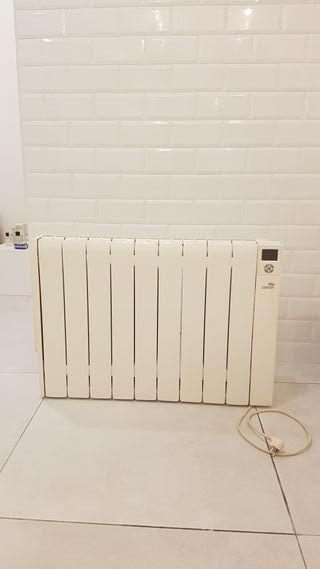 Calefactor de calor azul