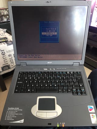 Acer portatil windows XP