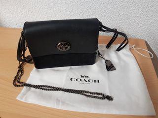 bolso negro de Coach original