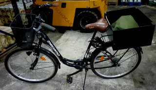 bici ciudad megamo nueva!