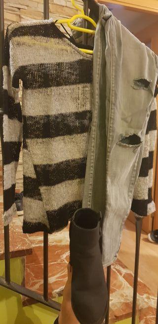 lote ropa+botas
