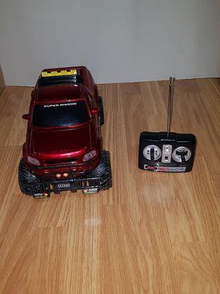 """Coche radio control """"super wagon"""" 4X4"""