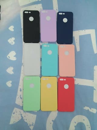 Fundas silicola iPhone 7 plus (juntas o separadas)