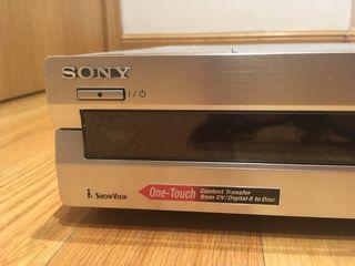 Reproductor y Grabador DVD Sony RDR-GX7