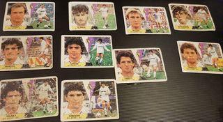 Cromos del Real Madrid liga 87/88