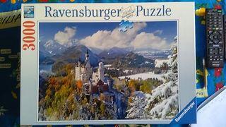 Puzzle 3000 piezas.