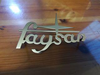 Emblema sidecar Faysan