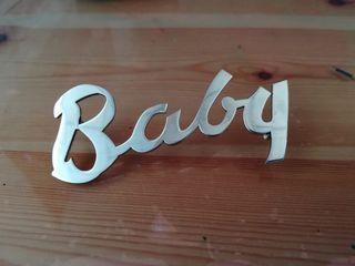 Emblema de sidecar Baby Comet