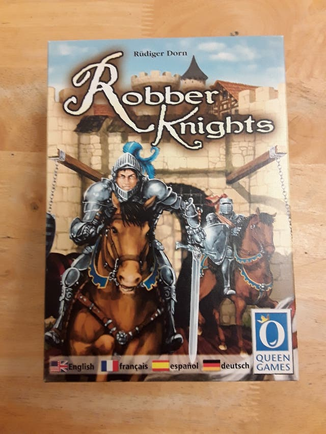 Robber Knights Board Game