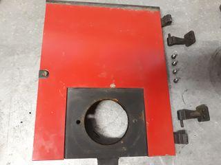 Puerta caldera Roca leña Gas.oil