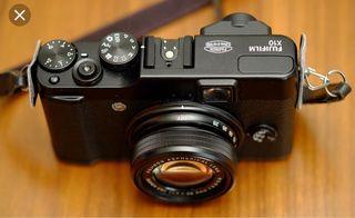 Fujifilm X-10- Objetivo 28-112mm.