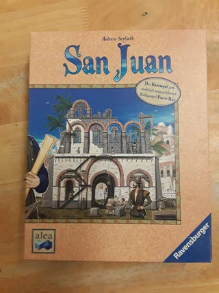 San Juan Board Game *in German*