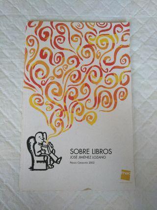 Sobre libros. Libro