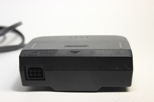 NINTENDO 64 POWER SUPPLY ALIMENTADOR AC N64