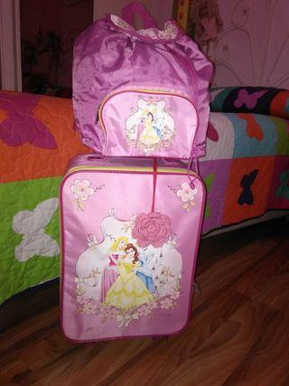 maleta viaje princesas disney