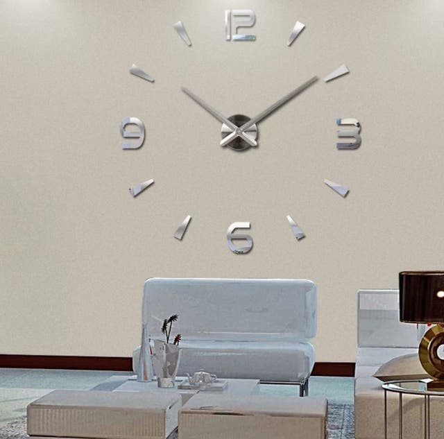 536f90c80834 Reloj Gigante Plata Mod 2 Para Pared de segunda mano por 19