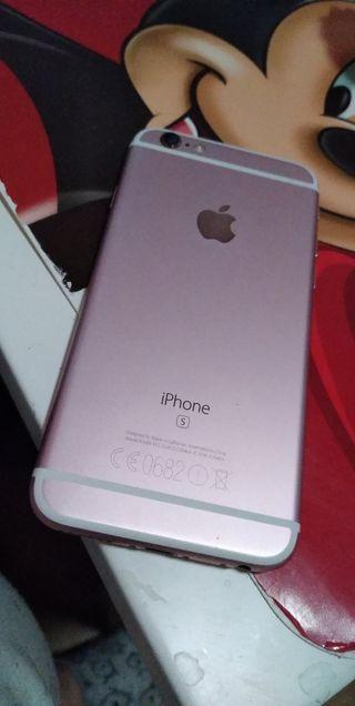 IPhone 6s gold rose (PRECIO NEGOCIABLE)