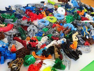 Lego BIONICLE 1kg de muchísimas piezas