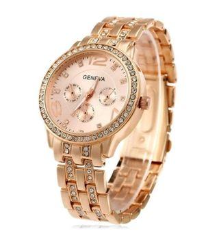 Reloj oro rosa.