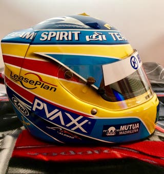 Replica 1/1 Casco Fernando Alonso 2006