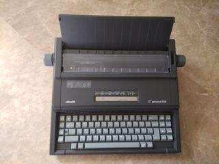 Maquina de escribir olivetti et personal 550