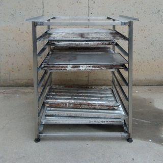 Mesa inox para horno 60x80