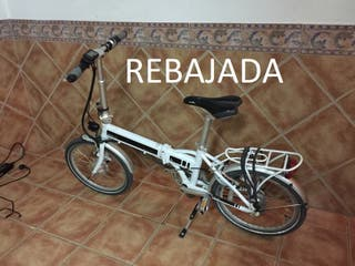 Bicicleta electrica plegable Quipplan City Q10