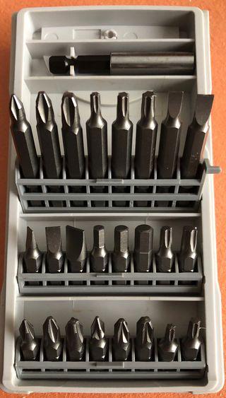Conjunto nuevo de puntas Bosch originales