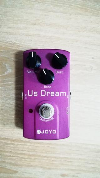 pedal de distorcion para guitarra eléctrica