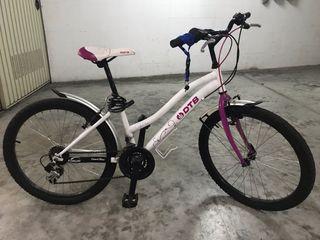 Bicicleta para chica