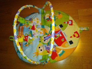Gimnasio manta de actividades bebé