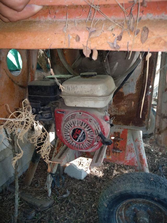 hormigonera profesional motor gasolina