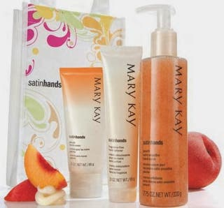 SET MANOS DE SEDA MELOCOTÓN MARY KAY