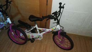 bicicletas niña 16 pulgadas