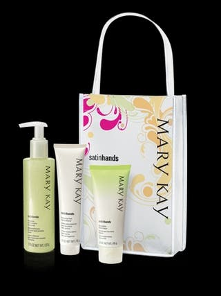 SET MANOS DE SEDA MELON MARY KAY