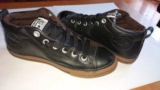 zapatillas converse de piel