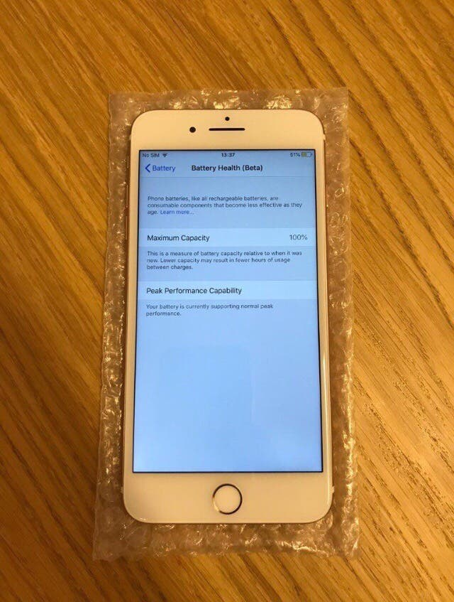 iPhone 7 Plus 128GB with receipts