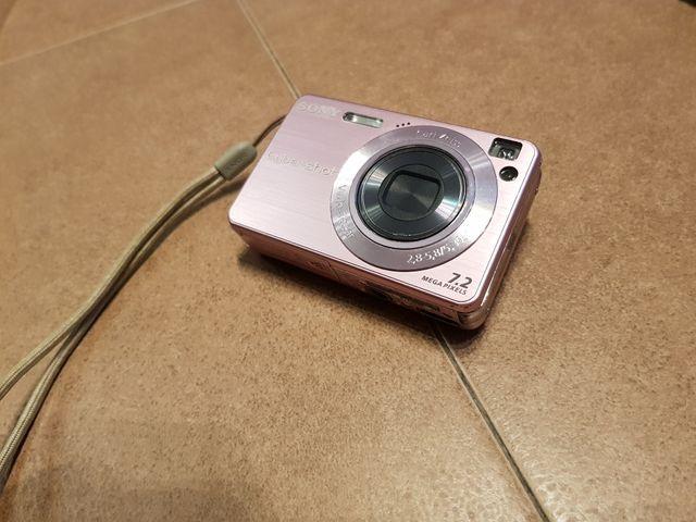 Cámara Sony Cyber-Shot DSC-W120 Rosa