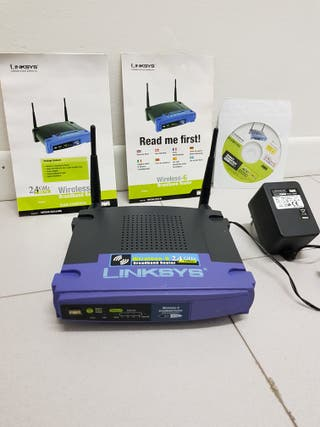 Router Linksys Wireless Broadband